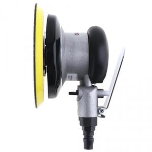 Image 4 - 5 Polegada impulso matte superfície circular pneumática lixa aleatória orbital lixadeira de ar polido máquina moagem mão ferramentas elétricas