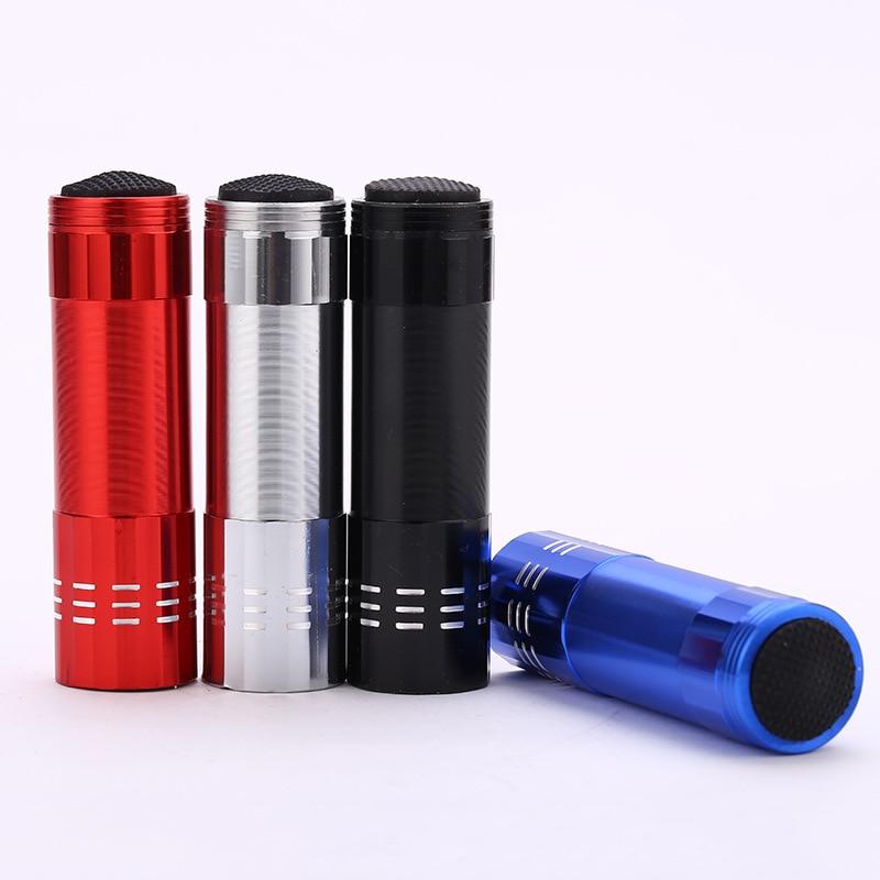 Portable Mini Flashlight Lampe Torche Pocket LED Flashlight 1 Switch Mode Outdoor Camping Light /Bike Lanterna 3 X AAA Battery
