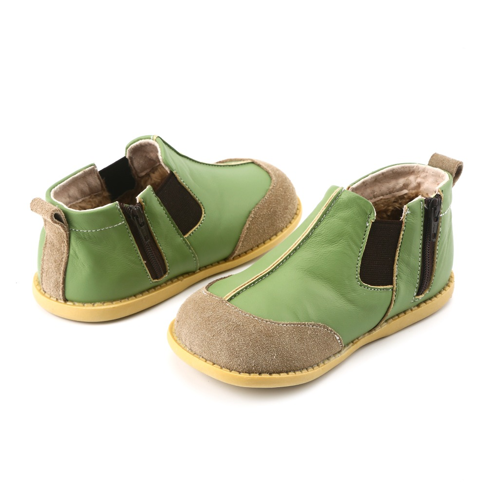 Tipsie toes Childrens shoes winter 2018 children Korean version of Martin boots leather  ...