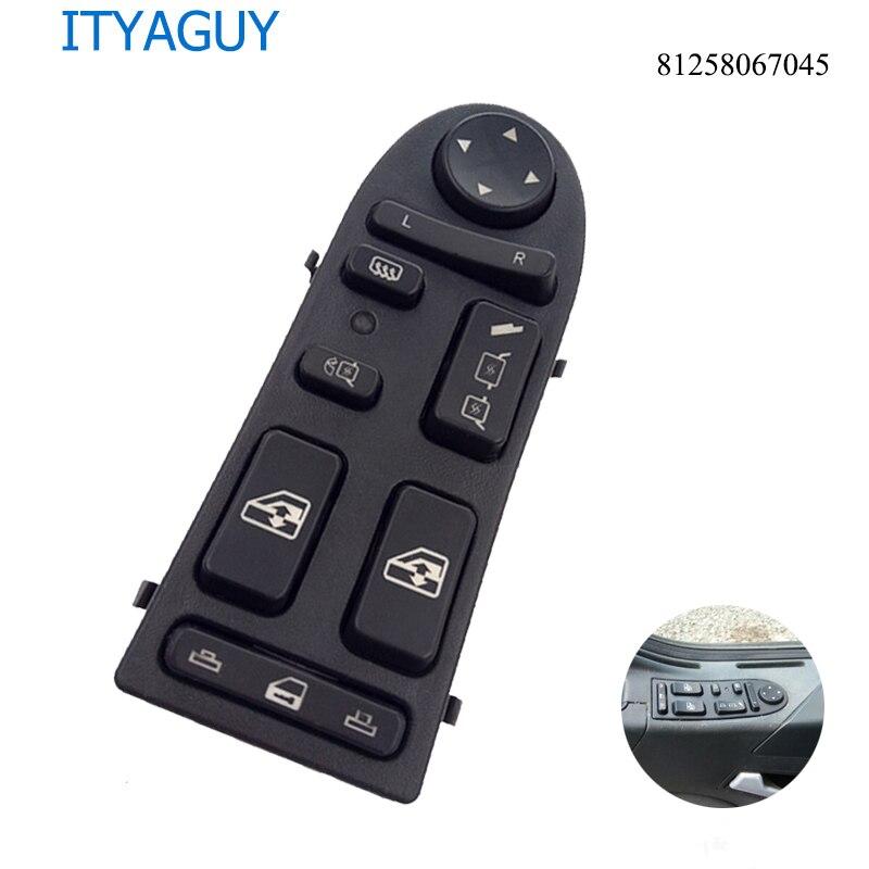 81258067045 sw0017 lhd interruptor de controle do elevador da janela de energia automática aplicar para o homem tga tgx 81258067098 901-104-002 901104002
