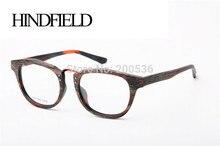 HINDFIELD 2017 Moda Unisex Marca gafas de diseño de Acetato marcos de los Vidrios Ópticos para las mujeres de los hombres oculos gafas de sol mujer