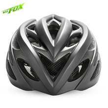 BATFOX MTB Men Bicycle Helmet 2017 EPS Integrally-molded Cycling Helmet 20 Air Vents Ultralight Mountain Road Bike Helmet 208G