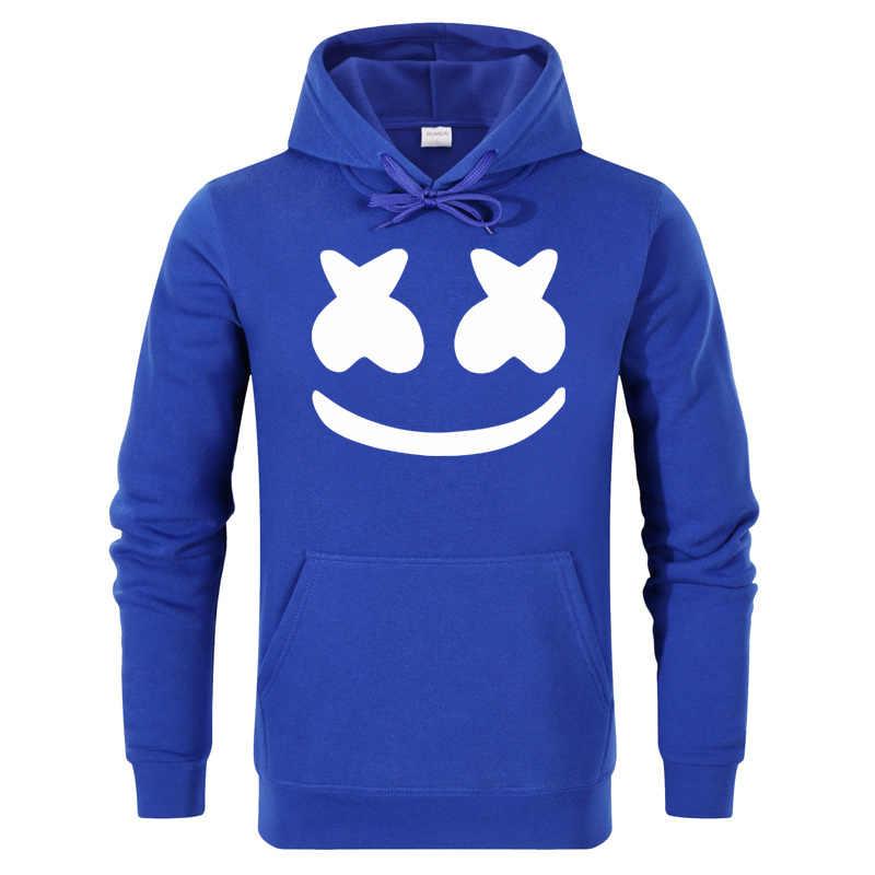 4806e45e429 ... AIANXIN winter New brand marshmello face Hoodies woman Men Casual Slim  Fit Hoodies Sweatshirt Sportswear Male ...