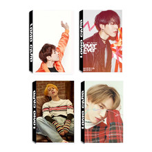 KPOP GOT7 YUGYEOM Shopping Mall Never Ever 7 FOR 7 EYES ON YOU Hard Carry Album LOMO Cards Self Made Paper Photo Card Photocard(China)