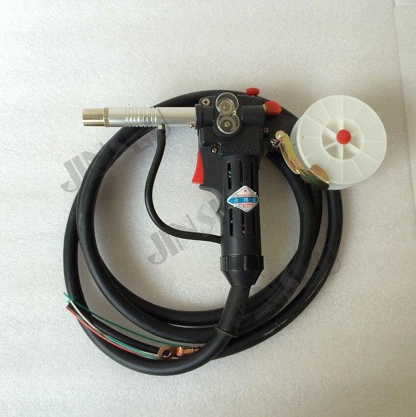 MIG MMA Spool Gun Welding Gun Push Pull Aluminum Torch 2M professional welding wire feeder 24v wire feed assembly 0 8 1 0mm 03 04 detault wire feeder mig mag welding machine ssj 18