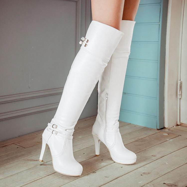 Online Get Cheap Tall White Boots -Aliexpress.com | Alibaba Group