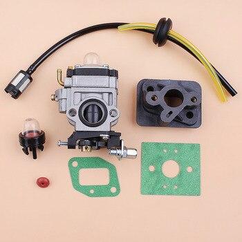 Carburetor Base Connector Intake Manifold Fuel Hose 43cc 52cc 40-5 BC430 CG430 CG520 1E40F-5 44F-5 Motor Brush Cutter Trimmer air filter kit for brush cutter bc430 43cc 49cc 52cc engine 40f 5 44f 5