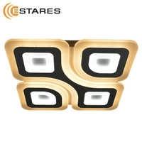 Controllable LED Ceiling Light Geometria Quadrate 85 W q-500-white-220-ip44 Maysun Estares