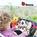 Sozzy Музыкальный Детские Игрушки Коляска Детская Кроватка Кровать Висит Кроватки Mobile мягкий Panda Олень Пингвин Плюшевые Погремушка Прорезыватель Игрушки Для Новорожденных младенцев
