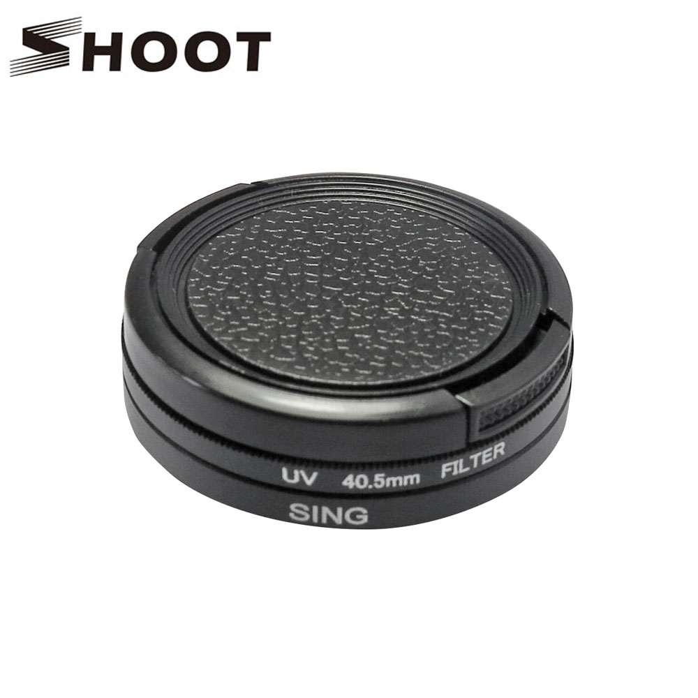 Çekim 40.5mm Çap Bölünmüş UV Filtresi Gopro Hero 4 3 3 + Eylem - Kamera ve Fotoğraf