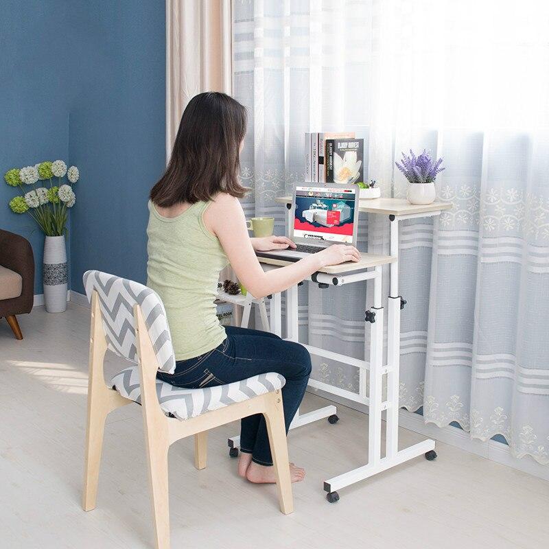 Multi functional standing notebook desktop computer desk home writing desk office furniture