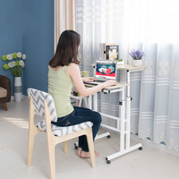 Multi functional standing notebook desktop computer desk home writing desk office furniture