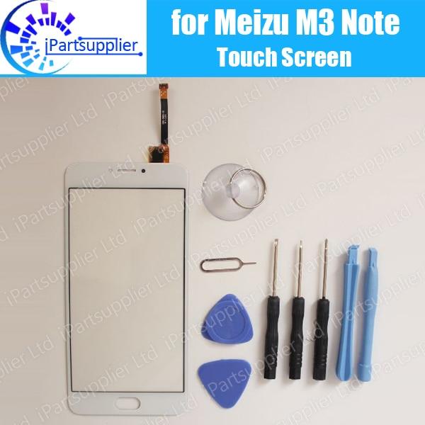 imágenes para Meizu M3 Nota M681H pantalla táctil 100% Original Ensamblaje del panel de cristal Digitalizador Reemplazo para Meizu M3 Nota M681H teléfono + herramientas