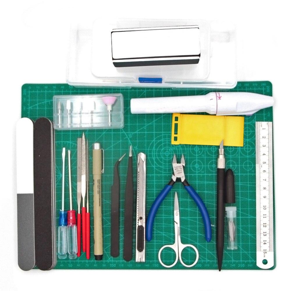 Modeler Basic Tools Craft Set For Car Gundam Model Assemble Building Kit