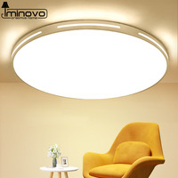 LED Ceiling Light Modern Lamp Panel Living Room Round Lighting Fixture Bedroom Kitchen Hall Surface Mount