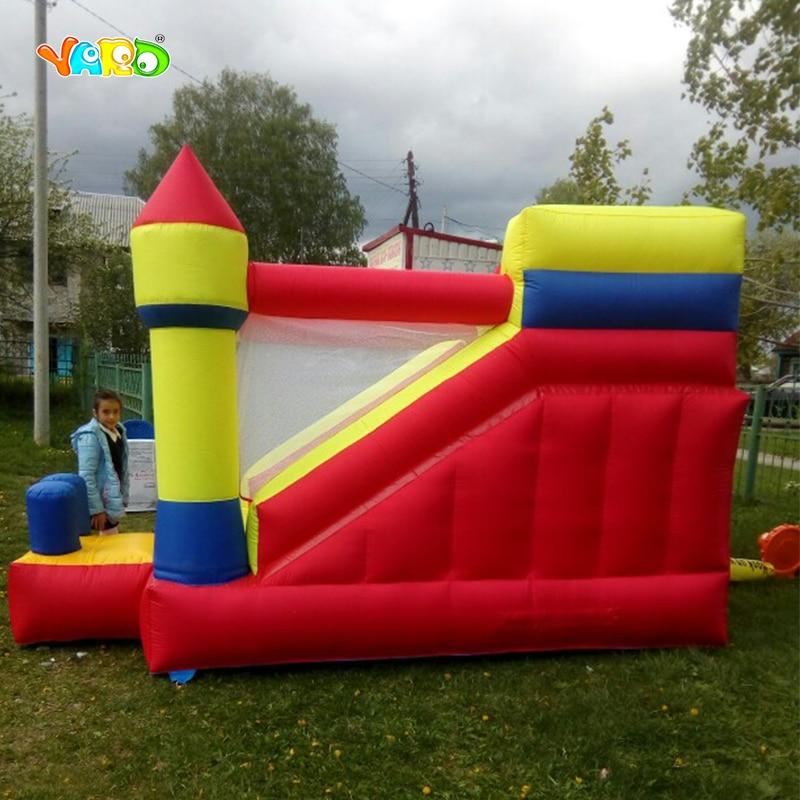 Двір великий надувний батут з вибухом - Спорт та розваги на відкритому повітрі - фото 4