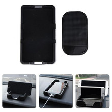New Universal Car Styling Car Dashboard Silicone Pad Mat Anti Non Slip Gadget Phone GPS Holder Stand