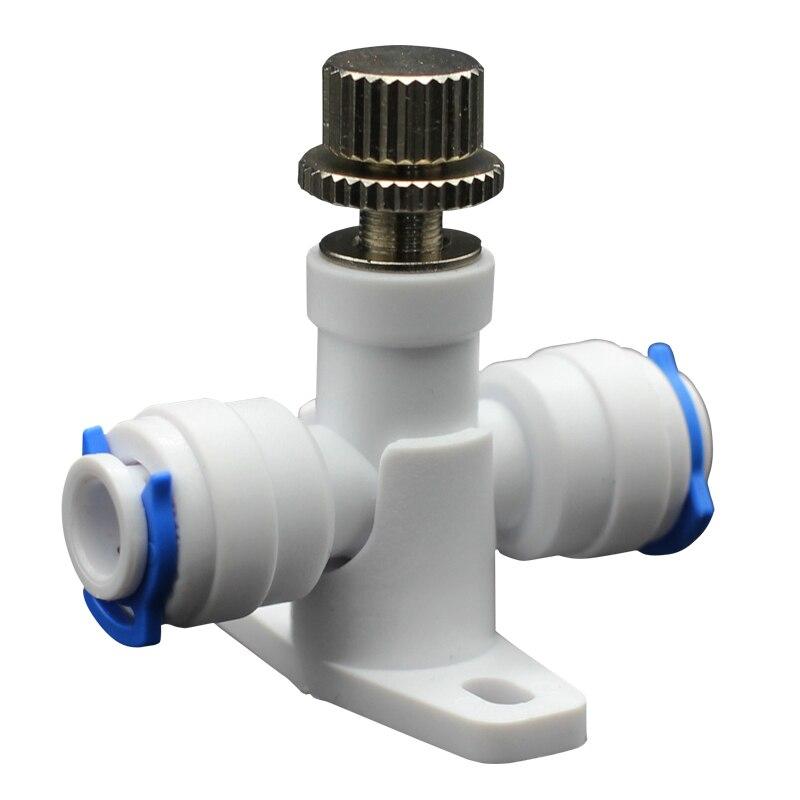 Sanitär Treu Umkehrosmose 1/4 schlauch Ro Wasser Fluss Einstellen Ventil Regler Wasserstrom Control Ventil Anschluss Fitting Wasser Geschwindigkeit Controller