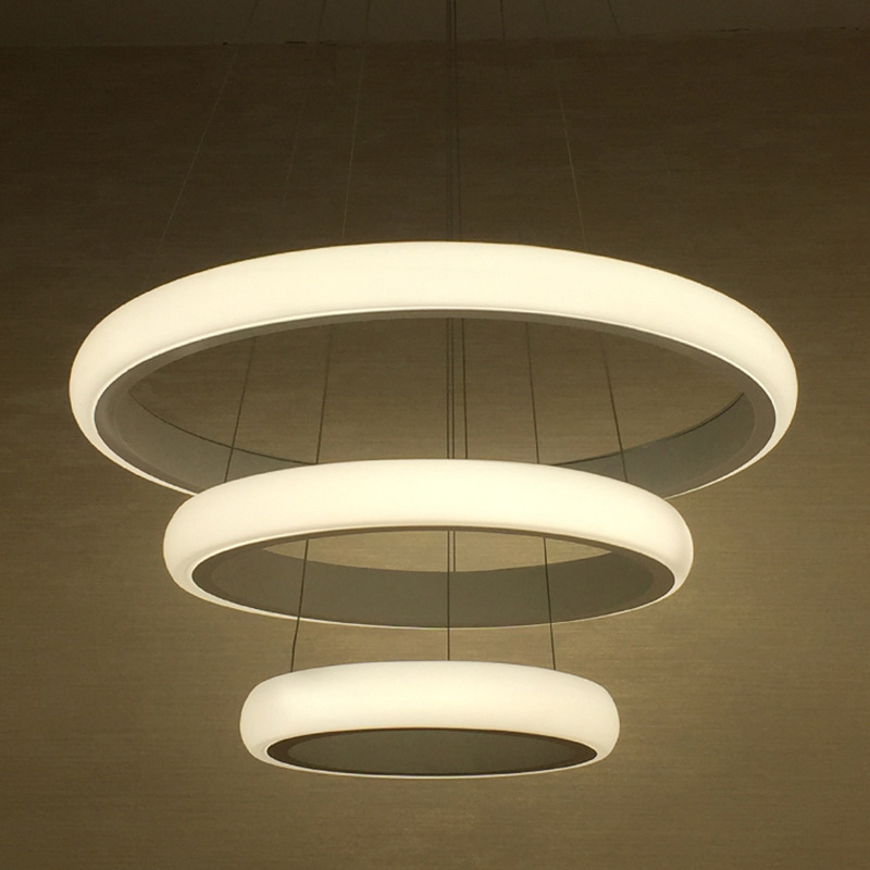Modern led pendant lights indoor home suspension luminaire for Grande suspension luminaire