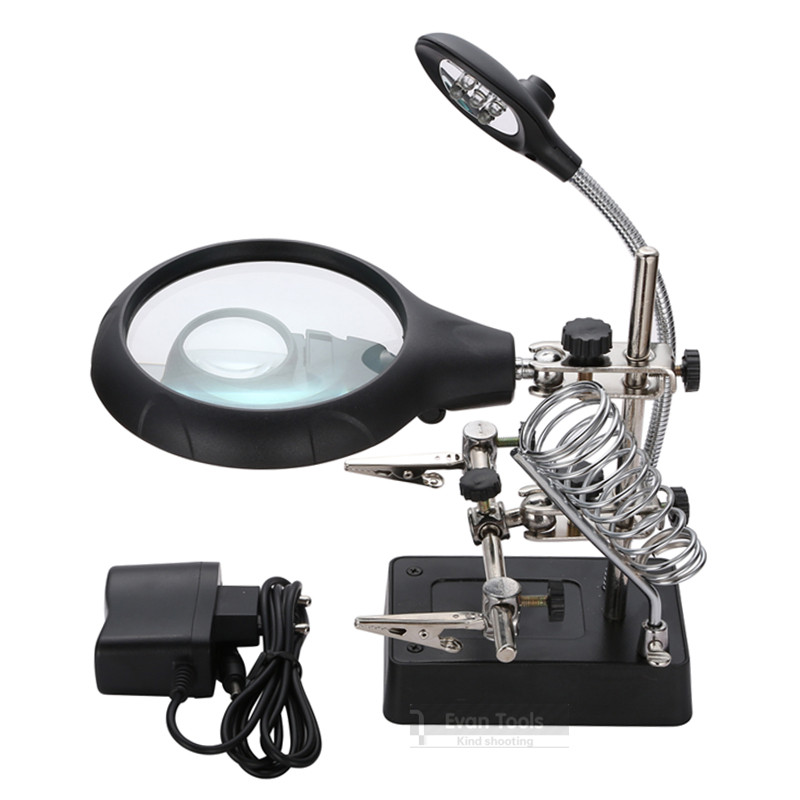 Image result for 5led auxiliary clip magnifier ac/dc interchangeable