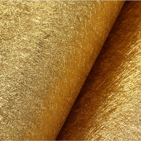 Moderne luxe or argent papier peint feuille d'or papier peint rouleau salon chambre fond papier peint pvc étanche réfléchissant