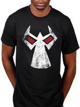 2017 Cool Men Batman Bane Mask T Shirt Dc Comics Cartoon Dark Knight Marvel Gotham Printed Tops Cool Short Sleeve Tees