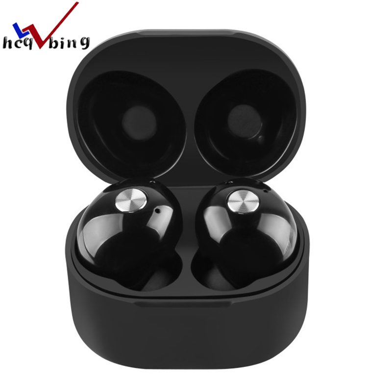 HCQWBING Original IP010 poartable mini earphone TWS wireless earbuds bluetooth earphone with Mic for iphone android smart phone