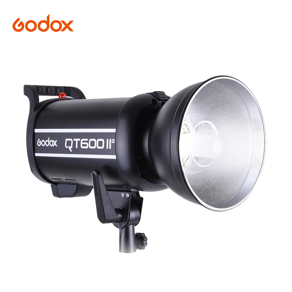 Godox QT600IIM 600WS GN76 Studio Photography Strobe Flash Light Build in 2.4G Wireless Receiver High Speed Sync with Bowen Mount|Flashes| |  - title=