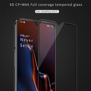 Image 2 - Для Oneplus 7T закаленное стекло для Oneplus 6T/7 Защита экрана Nillkin XD CP + MAX Антибликовая Защитная пленка для One plus 7 7T