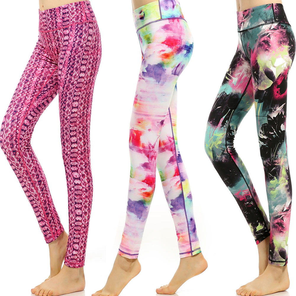Yoga Pants Sport Leggings For Fitness Gym Pants Female Clothing Tights Woman Hot Sportswear Jogging Running Sport Pants Trousers
