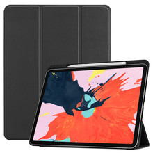New Smart Case for iPad Pro 12.9 2018 Ipad Ultra-slim Intelligent Flip PU Leather For With Sleep/Wake up