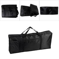 Portable 61Key Music Piano Keyboard Carry Case Bag 420D Waterproof Oxford Cloth Drop Ship