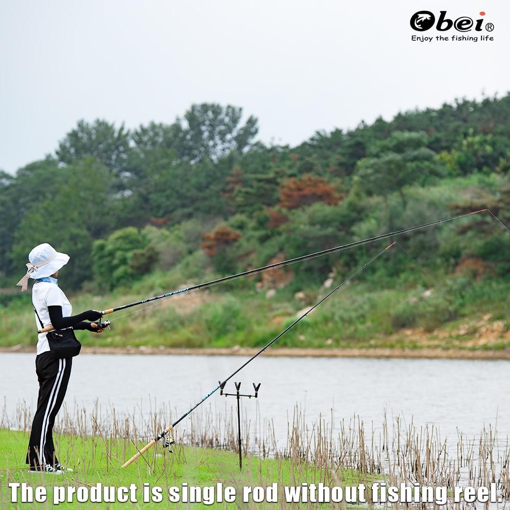 feeder fishing rod tele method feeder portable power telescopic professional high carbon 3.3m 3.6m carp lure weight 60-180g obei