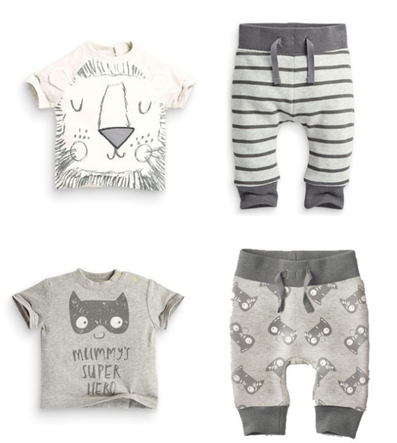 New 2 Piece Clothes Set Baby Girl Pants Blouse Summer