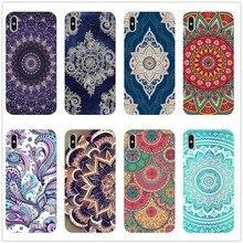 Mandala Sun Flower Datura Retro Flora New Arrival Phone COVER Case for iPhone 8 7 6 6S Plus XS MAX XR 11 11PRO SE case Coque