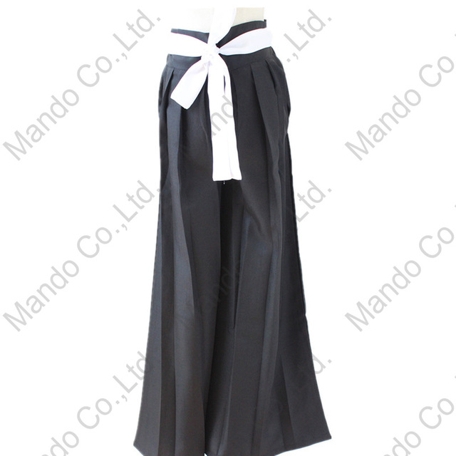 ccfb6b72e Japanese Kendo pants Anime BLEACH Kurosaki ichigo kimono pants Cosplay  Costumes Halloween party outfit