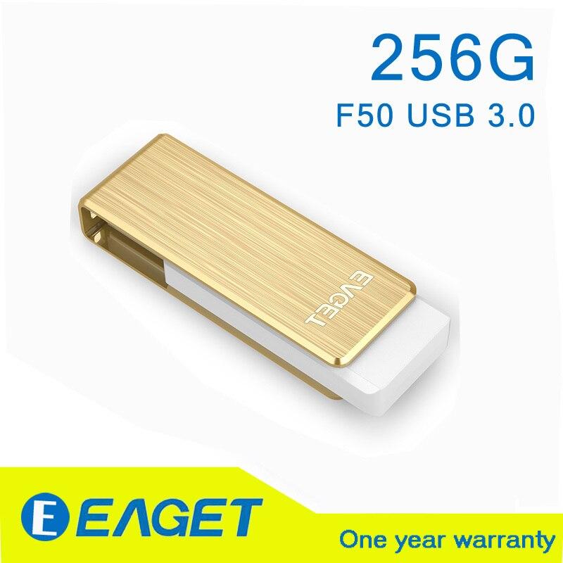 EAGET F50 USB 3.0 256GB 256G pen drive usb 3.0 flash drive pendrive 3.0 256gb pendrive 256gb 3.0 Waterproof Gift memory stick