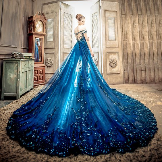 Handmade Flounced Tulle Ball Gown Luxury