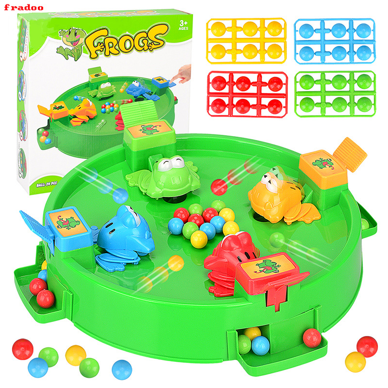 Biology Toys & Hobbies Apprehensive New Big Novelty Feed Frog To Eat Peas Toy Puzzle Multi-player Games Parent-child Interactive Kids Toys For Children Funny Gift