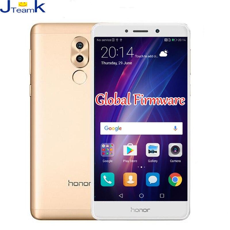 bilder für Ursprünglicher Huawei Honor 6X Globale Firmware OTA Dual Rückfahrkamera 12MP 4G FDD LTE telefon octa-core 5,5 zoll 1920 * 1080pix FingerPrint