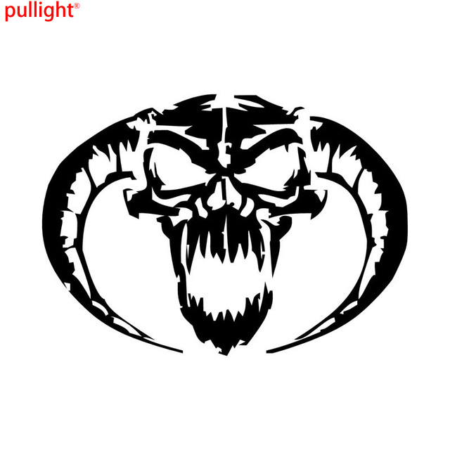 Demon Skull Personalized Car Stickers Stylish Motorcycle Vinyl - Personalized car stickers and decals