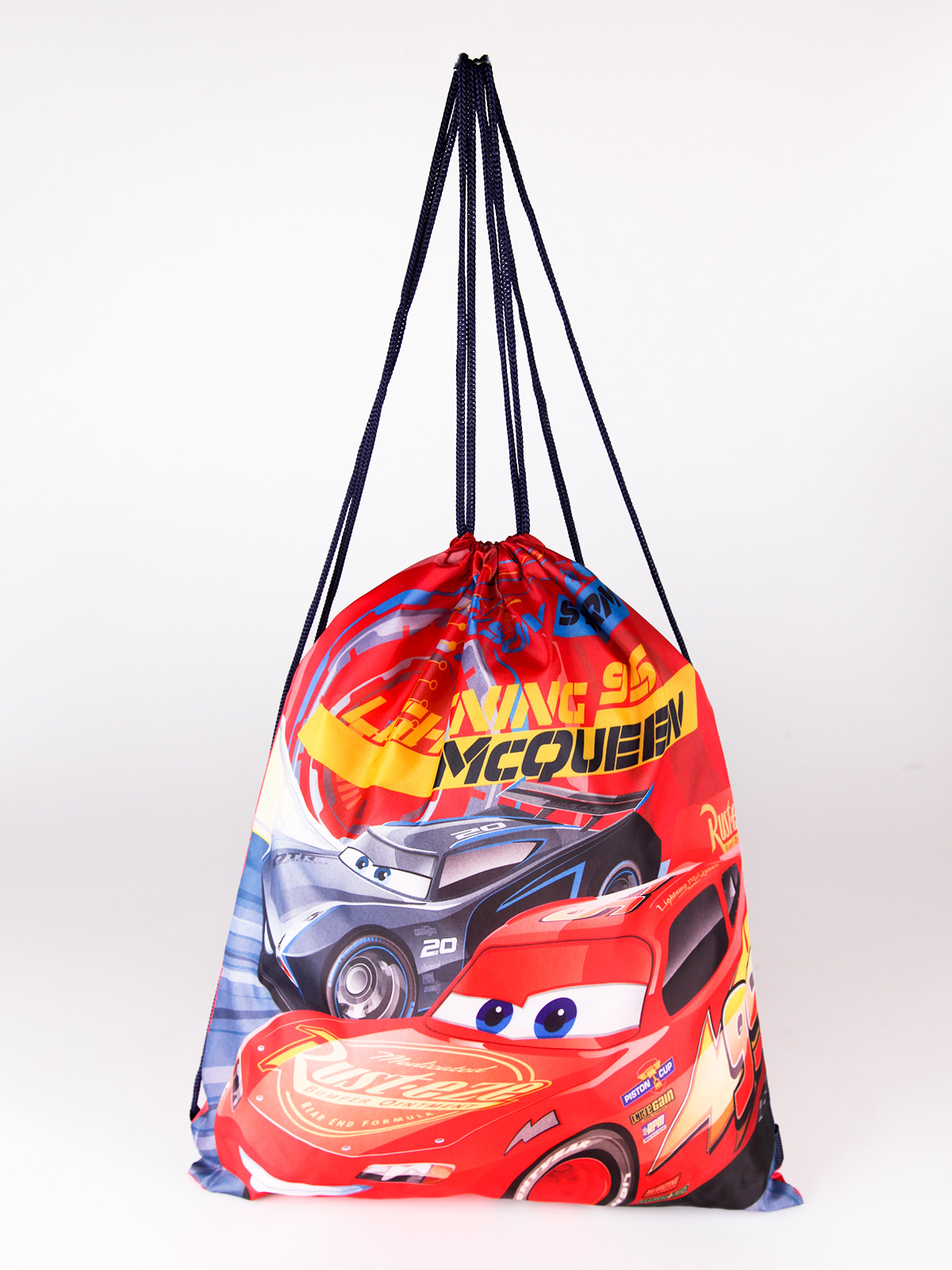 String Bag With Printing Cars