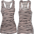 E128 New Summer Sleeveless Stripe Tank Tops Loose Women Tanks Soft O Neck Confortable Vest Hot Top