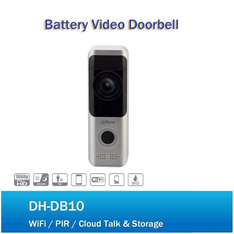 DH DH-DB10 Video Intercom Wireless Security Battery Door Intercom Night Vision PIR Detection Dual-way Talk No Logo DB10