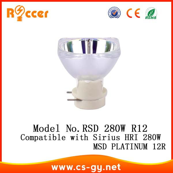Roccer 12R 280W for beam 280w Compatible with MSD PLATINUM 12R / SIRIUS HRI 280W roccer general 15r 300w compatible with sirius hri 300w e21 8 for sharpy beam 300
