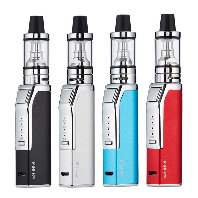FERSHA Mini 80W vape electronic cigarette mod kit box Hookah Starter kit 2200 mAh built-in battery 510 atomizer Vaper must