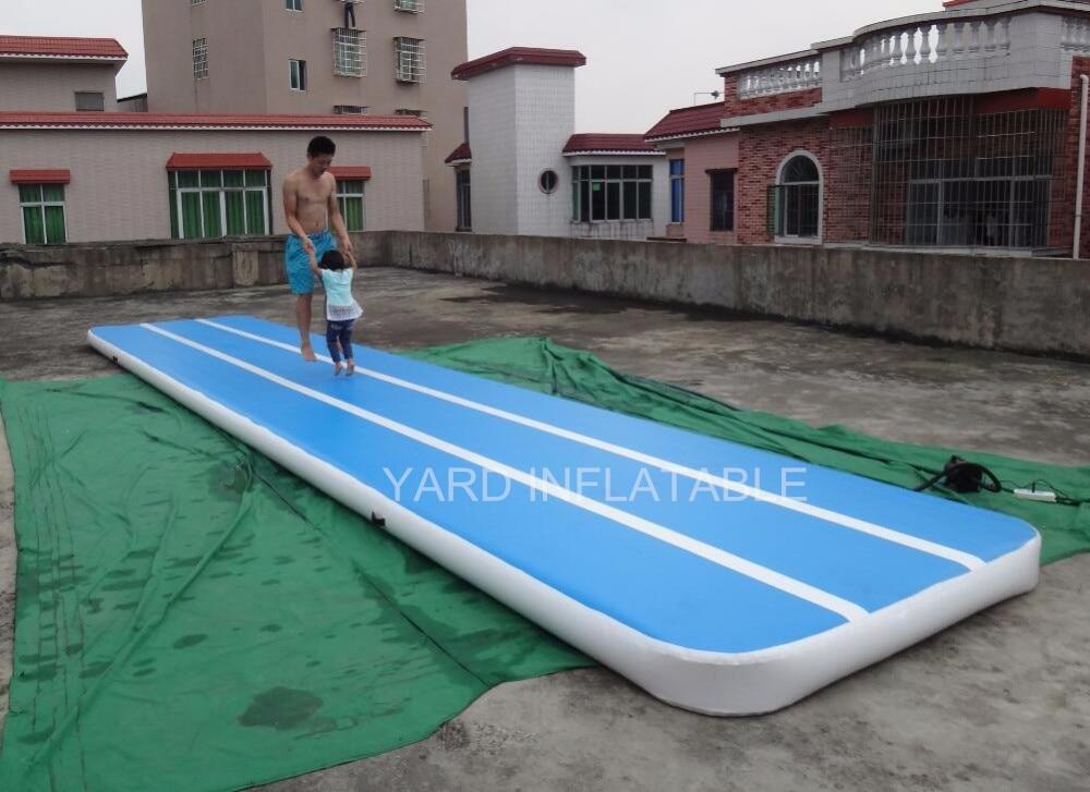 Tapis de gymnastique gonflable de haute qualité jeu de sport tapis de gymnastique gonflable