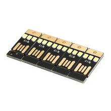 5 шт. Ночная лампа Мини карманная карта USB мощность светодиодный брелок ночной Светильник 0,2 Вт Светодиодная лампа USB книга светильник для ноутбука PC power bank