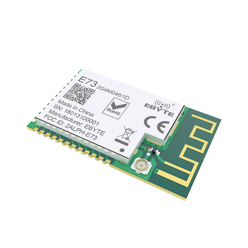 Image 4 - nRF51822 Ble 4.2 Wireless Module E73 2G4M04S1D 4dBm Bluetooth Transmitter Receiver Data transmission PCB IPEX Antenna Interface-in Fixed Wireless Terminals from Cellphones & Telecommunications
