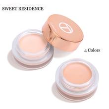 SWEET RESIDENCE Eye Primer Concealer Cream Makeup Base Oil Control Brighten Long Lasting Moisturizer Make up Cosmetic